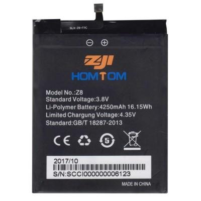 Аккумулятор для Homtom ZoJi Z8