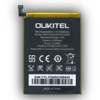 Аккумулятор для Oukitel K4000 Plus
