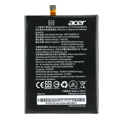 Аккумулятор для Acer Liquid Zest Plus Z628 / BAT-510 (1ICP6/65/85)